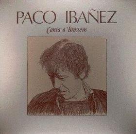 portada del disco Paco Ibáñez Canta Brassens