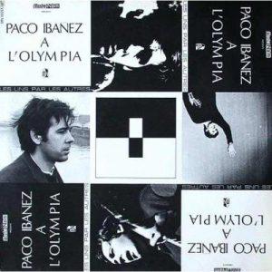 portada del disco Paco Ibáñez en el Olympia