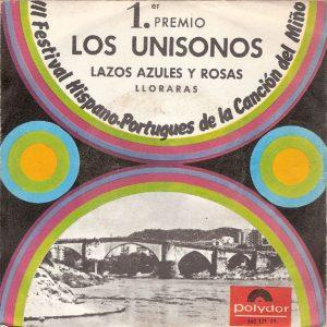 portada del disco Lazos Azules y Rosas