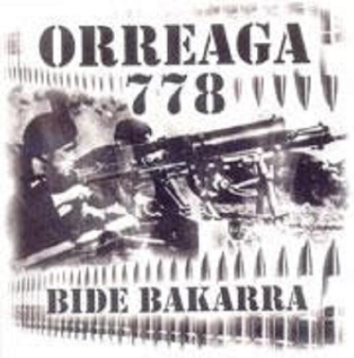 portada del album Bide Bakarra