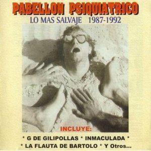 portada del disco Lo Más Salvaje 1987 - 1992