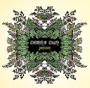 portada del disco Jardín