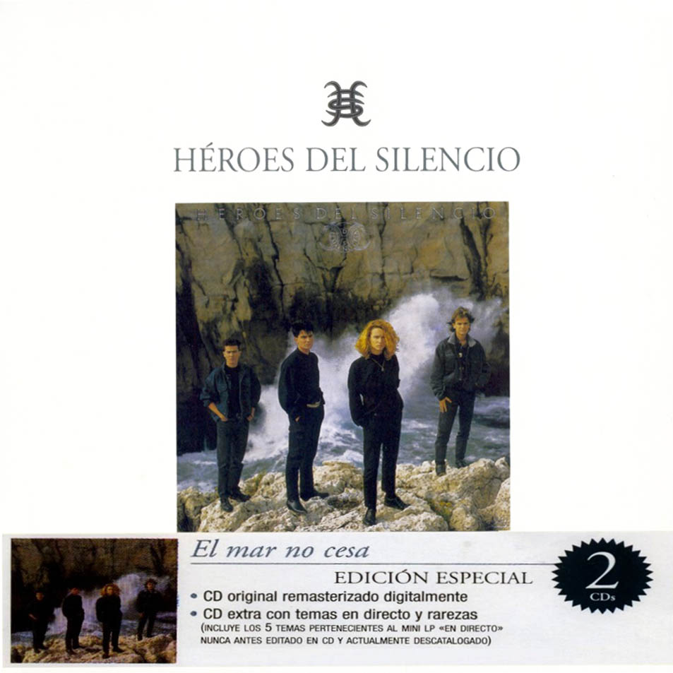 portada del album El Mar no Cesa (edición especial)