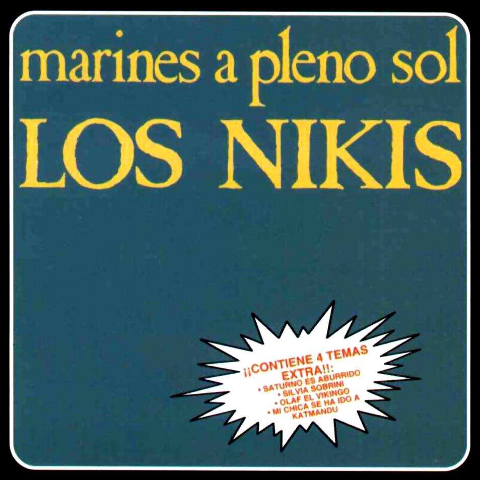 portada del album Marines a Pleno Sol (reedición)
