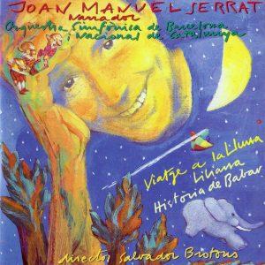 portada del disco Liliana, Història de Babar i Viatge a la Lluna