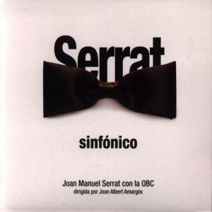portada del disco Serrat Sinfónico