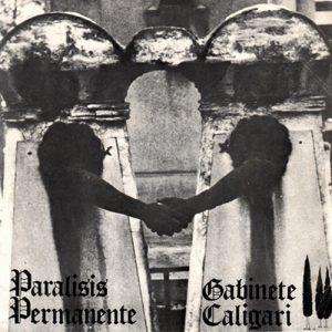 portada del disco Parálisis Permanente / Gabinete Caligari