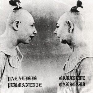 portada del disco Parálisis Permanente / Gabinete Caligari (reedición)