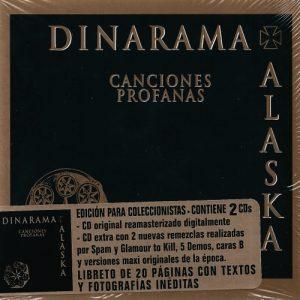 portada del disco Canciones Profanas (edición para coleccionistas)