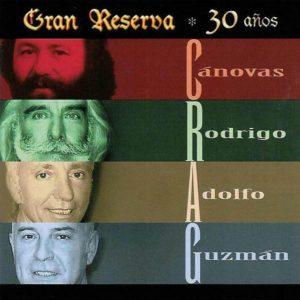 portada del disco Gran Reserva. 30 Años