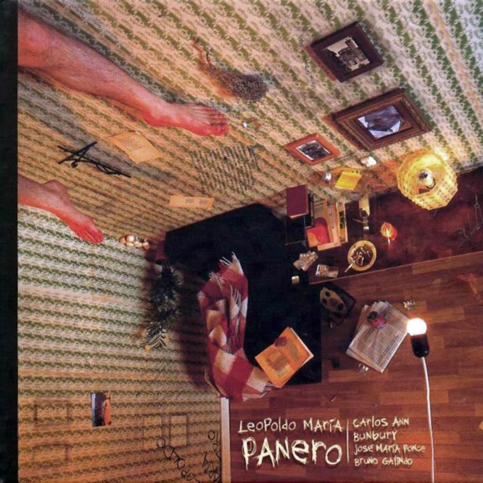 portada del album Panero: Bunbury, Carlos Ann, Bruno Galindo y José María Ponce