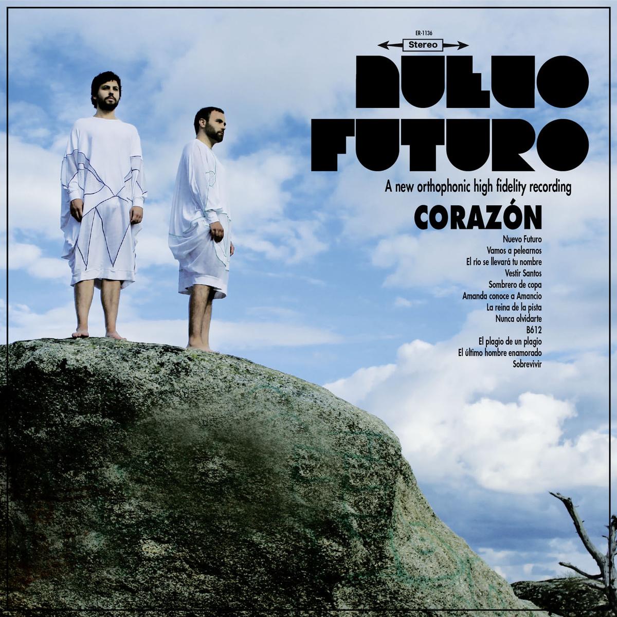 portada del album Nuevo Futuro