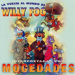 portada del disco La Vuelta al Mundo de Willy Fog