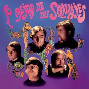 portada del disco Lo Mejor de Los Salvajes