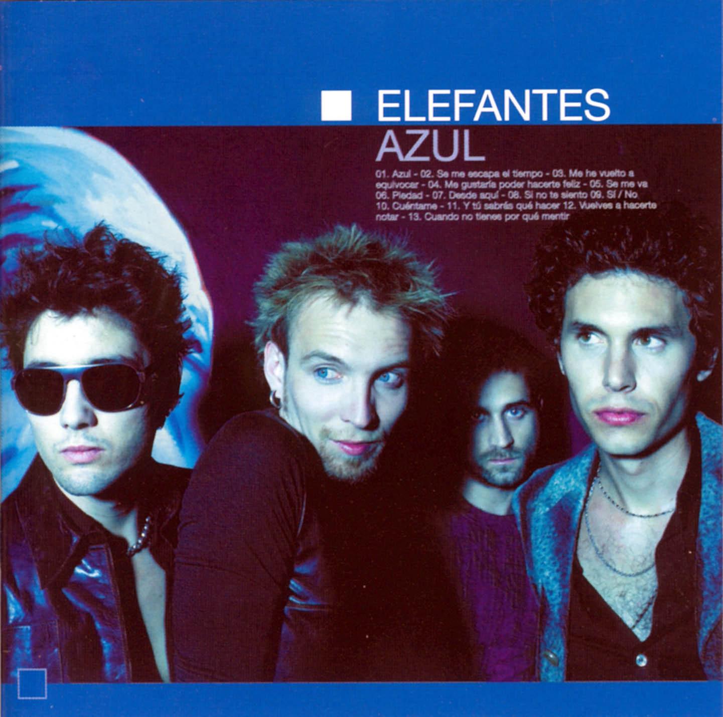 portada del album Azul