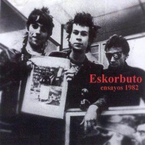portada del disco Ensayos 1982