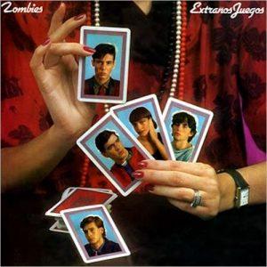 portada del album Extraños Juegos