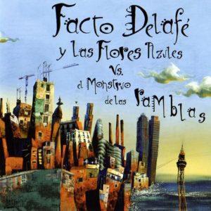 portada del disco Facto Delafé y Las Flores Azules Vs El Monstruo de Las Ramblas
