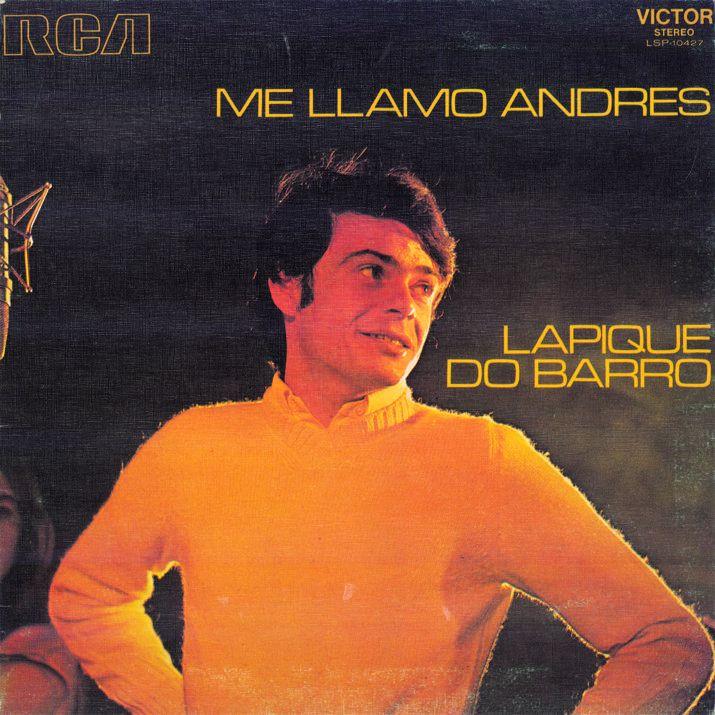 portada del album Me Llamo Andrés Lapique do Barro