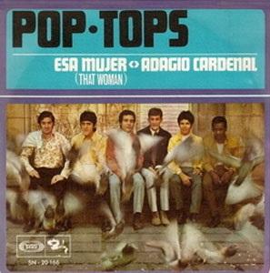 portada del disco Esa Mujer / Adagio Cardenal