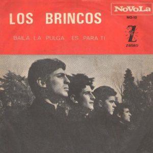 portada del disco Baila la Pulga / Es Para Ti
