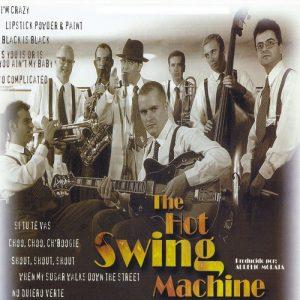 portada del disco The Hot Swing Machine