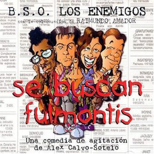 portada del disco Se Buscan Fulmontis (vinilo)