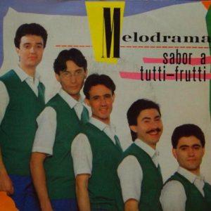 portada del disco Sabor a Tutti Frutti
