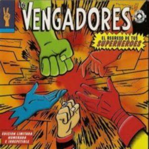 portada del disco El Regreso de tus Superheroes