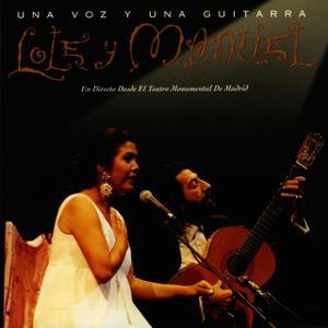 portada del disco Una Voz y Una Guitarra