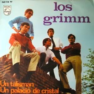 portada del disco Un Talismán / Un Palacio de Cristal