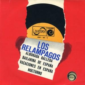 portada del disco Alborada Gallega / Bailarina de España / Vacaciones en España / Nocturno