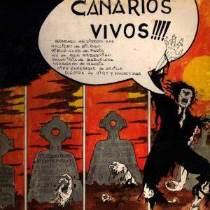 portada del disco Canarios Vivos!!!!
