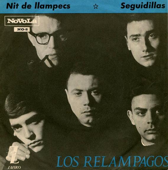 portada del disco Nit de Llampecs / Seguidillas