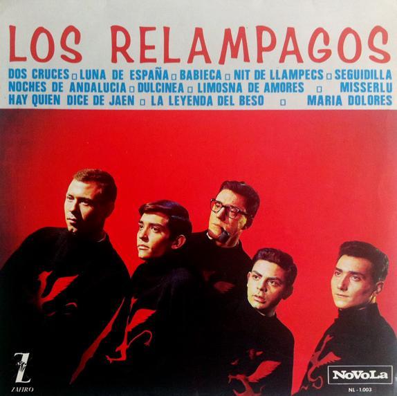 portada del disco Los Relámpagos