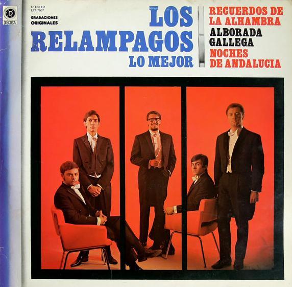 portada del disco Lo Mejor de Los Relámpagos