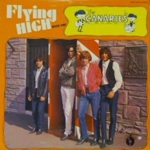 portada del disco Flying High With The Canaries