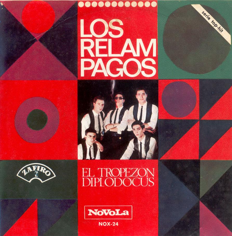 portada del disco El Tropezón / Diplodocus