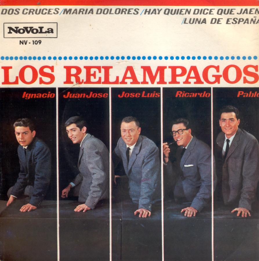 portada del disco Dos Cruces / María Dolores / Hay Quien Dice de Jaen / Luna de España