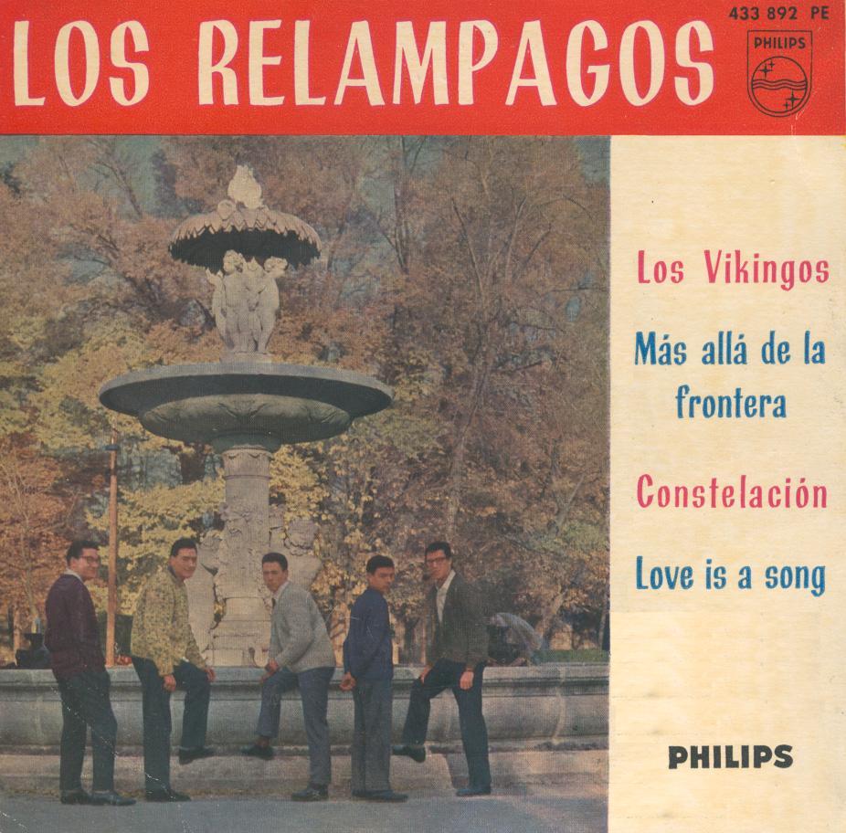 portada del disco Los Vikingos / Más Allá de la Frontera / Constelación / Love is a Song