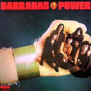 portada del disco Barrabás Power