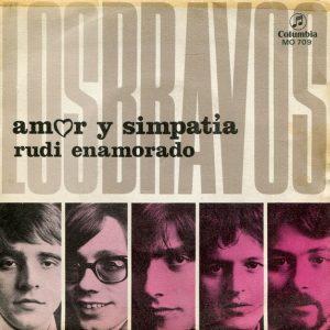 portada del disco Amor y Simpatía / Rudi Enamorado