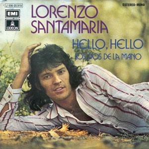 portada del disco Hello Hello / Los Dos de la Mano