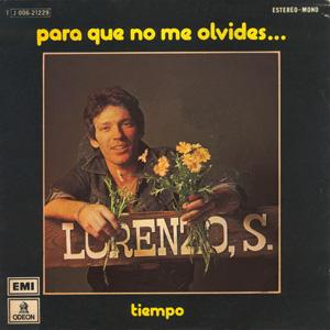 portada del album Para Que No Me Olvides / Tiempo
