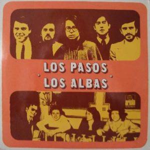portada del disco Los Pasos / Los Albas