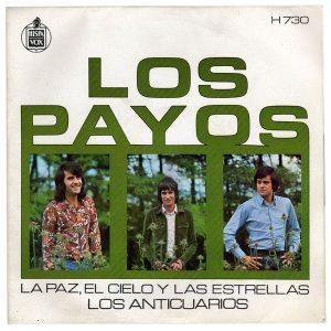 portada del disco La Paz, el Cielo y las Estrellas / Los Anticuarios