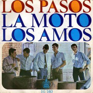 portada del disco La Moto / Los Amos
