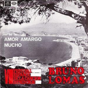 portada del disco VIII Festival Español de la Canción Benidorm