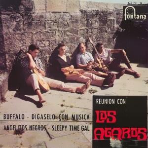 portada del disco Reunión con Los Ágaros