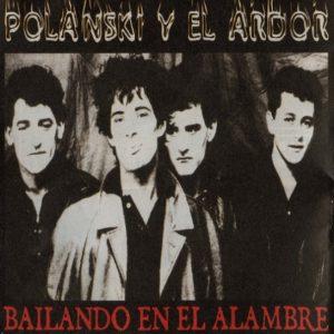 portada del disco Bailando en el Alambre